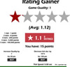 Jeu Rating Gainer