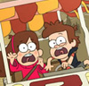 Jeu Gravity Falls Mystery Tour Ride